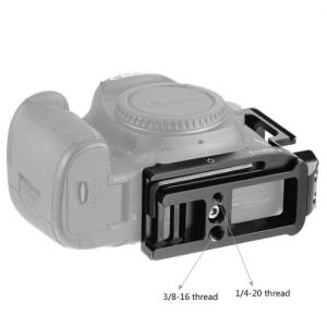 Staffa a L per fotocamera Canon EOS 5D Mark III e IV 2202