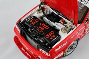 Audi V8 Evolution Team Dubois Racing Thibaut Belgian Procar 1993 1/18 Minichamps