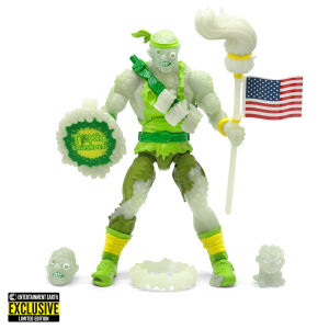 Ultimates Action Figure: TOXIC CRUSADERS Deluxe EE Exclusive Glow by Super 7