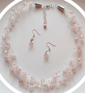 Necklace and earrings set | Handmade jewellery online