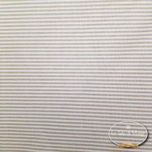Completo Lenzuola Millerighe beige
