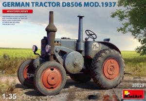 German Tractor D8506 Mod.1937