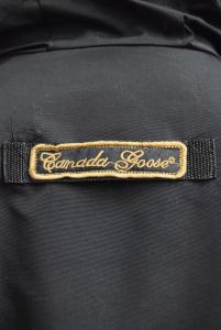 Giubbotto Uomo Canada Goose Nero In Piuma D'oca Tg Xs Made In Ade In Canada