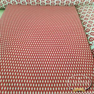 Completo Lenzuola Coda di pavone bordeaux