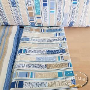 Completo Lenzuola Stecche blu