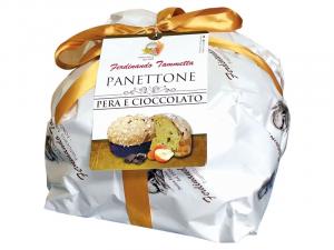 Panettone artigianale Pera e Cioccolato da 1Kg Forno Ferdinando Tammetta
