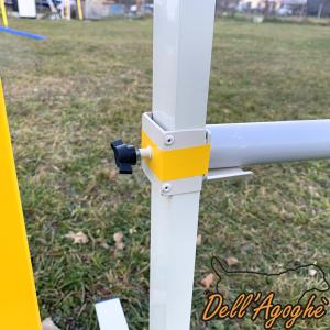 Set da 5, Salto leggero agility dog in alluminio, conformi al regolamento enci-fci, Dell'Agoghè