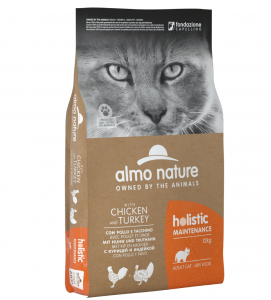 Almo Nature - Holistic Cat Maintenance - Adult - 12 kg x 2 sacchi