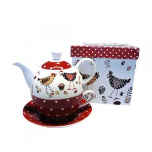 Set Tea For One - Pois e Galli