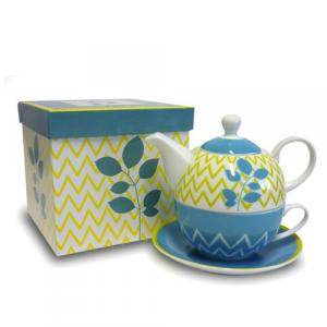 Tea For One - Turchese e Giallo