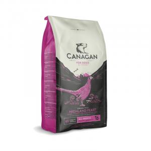 Canagan Crocchette per cani grain Free a base di Anatra tacchino e fagiano