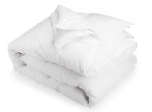 Piumino letto Moonlight, con rivestimento 100% cotone lavabile in lavatrice