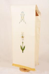 Copri Ambone 26 MA Giglio - Bianco - 50 x 260 cm