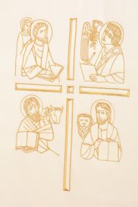 Copri Ambone 4 MA Evangelisti - Bianco - 50 x 260 cm