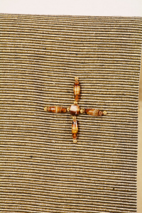 Copri Ambone Croce Perle  - 50 x 260 cm