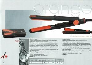 Piastra Orange Passion Dune 90