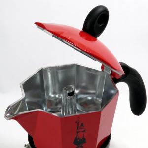 Caffettiera Bialetti induzione 3 tazze rossa
