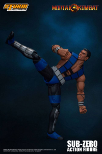 *PREORDER* Mortal Kombat Action Figure: SUB-ZERO UNMASKED by Storm Collectibles