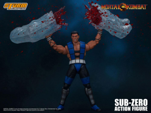 Mortal Kombat Action Figure: SUB-ZERO UNMASKED by Storm Collectibles