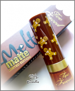 Too Faced Melted Matte Gingerbread