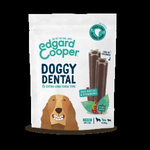 Edgard & Cooper DOGGY DENTAL FRAGOLA E MENTA snack per cani