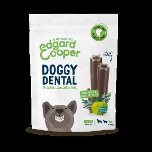 Edgard & Cooper Doggy Dental Mela e Eucalipto Snack per Cani LARGE 240gr