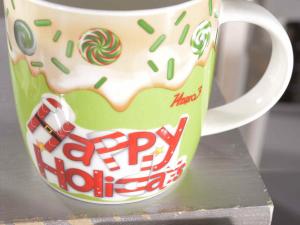 Tazza porcellana Goloso Natale pan di zenzero