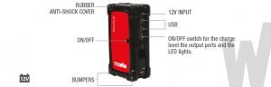 Avviatore Starter portatile Telwin Drive Pro 12 - 829572