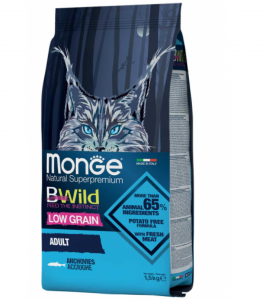 Monge Cat - BWild Low Grain - Adult - 1,5 kg