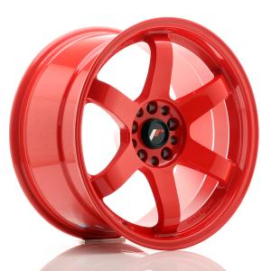 Cerchi in lega  JAPAN RACING  JR3  18''  Width 9,5   5x114,4/120  ET 15  CB 74,1    Red