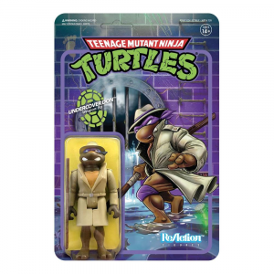 Teenage Mutant Ninja Turtles ReAction Figure: UNDERCOVER DONATELLO by Super7