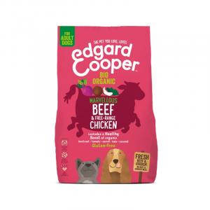 CROCCHETTE - Edgard & Cooper Crocchette Gluten Free per cani Adulti Pollo e Manzo Biologico con Barbabietola e Cocco
