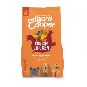 CROCCHETTE - Edgard & Cooper Crocchette per cani Grain free Adult Pollo Ruspante Fresco con Mango e Mirtilli