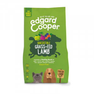 CROCCHETTE - Edgard & Cooper Adult Grain Free Agnello Fresco con Mela e Carota