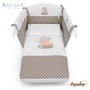 Piumone Paracolpi linea Cuore Stelle by Azzura Design | Completo