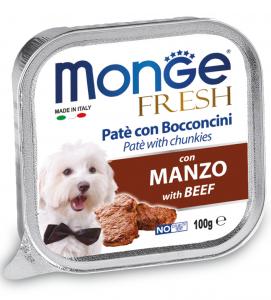 Monge - Fresh - Adult - 100gr x 16 vaschette