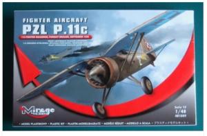 PZL P.11C FIGHTER AIRCRAFT