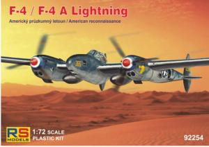 Lockheed F-4/F-4A Lightning