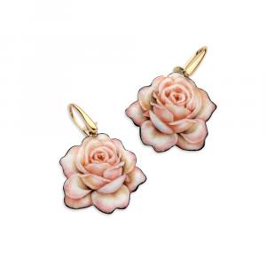Gabriela Rivalta orecchini rosa delicata