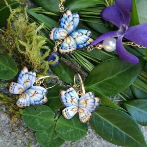 Gabriela Rivalta orecchini farfalla