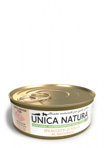 Sfilaccetti di Pollo al Naturale - Adult UNICO INDOOR