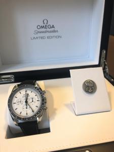 Orologio primo polso Omega Apollo 13 45 anniversario Silver Snoopy Award