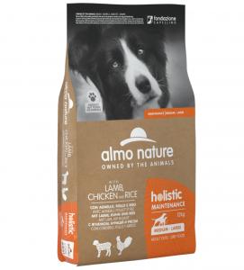Almo Nature - Holistic Dog Maintenance - Medium/Large - Adult - 12 kg x 2 sacchi