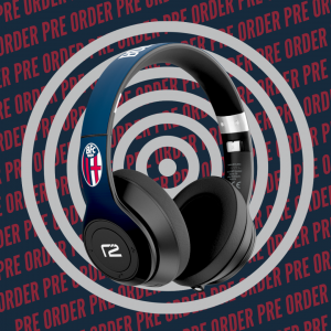 PRE-ORDER READY2MUSIC CUFFIE WIRELESS BLU Bologna Fc