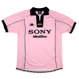 1997-98 Juventus Maglia Away Rosa Centenario XL (Top)