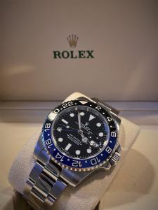 Orologio secondo polso Rolex Gmt-Master II