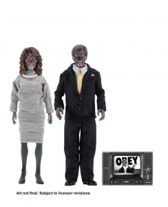 *PREORDER* They Live - Essi Vivono Action Figure: ALIENS - 2 Pack by Neca