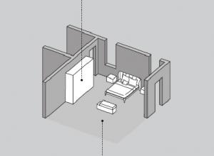 Camera da letto HNC004