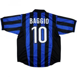 1998-99 Inter Maglia Home R. Baggio #10 XL (Top)