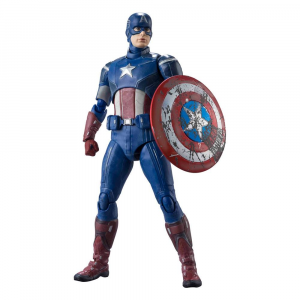 *PREORDER* Avengers Assemble Action Figure: CAPTAIN AMERICA by Bandai Tamashii